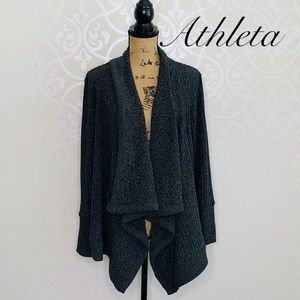ATHLETA ULTRA SOFT KNIT OPEN FRONT CARDIGAN